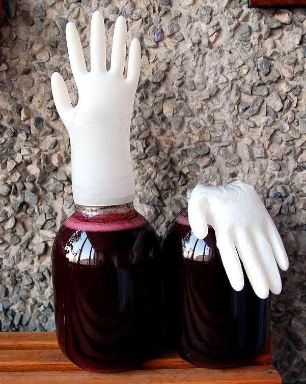 Банки с перчатками