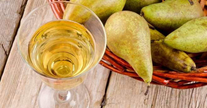 Домашнее вино из грушевого сока
